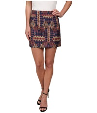 Sam Edelman Embroidered Mini Skirt Multi Women's Skirt