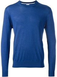 Paul Smith Crew Neck Jumper Blue