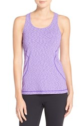 Zella Women's 'Racer' Tank Purple Jelly