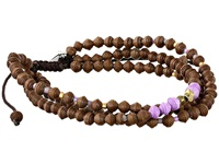 Chan Luu 6 3 4' Multi Strand Paper Bead Single Bracelet Brown Mix Bracelet