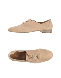Progetto Lace Up Shoes Sand