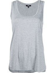 Paige Classic Tank Top Grey
