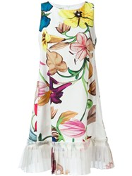 Dondup Sleeveless Printed Dress Multicolour