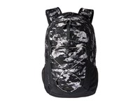 The North Face Jester Mountain Camo Print Metallic Silver Backpack Bags Black