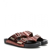 Givenchy Glitter Sandals Brown Black