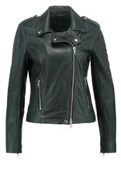 Set Leather Jacket Ponde Rosa Pine Dark Green