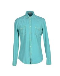 Cycle Shirts Shirts Men Turquoise