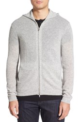 Men's Theory 'Kamero Aires' Front Zip Cashmere Hoodie