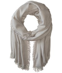 Hat Attack Everyday Scarf Light Grey Scarves Gray