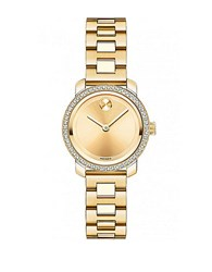 Movado Ladies Yellow Gold And Diamond Watch