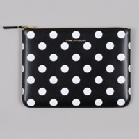 Polka Dot Print W Sa5100pd Black