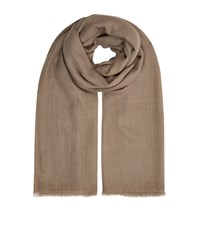 Eskandar Large Cashmere Scarf Female Black