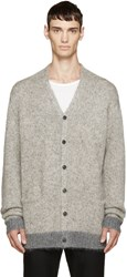 Attachment Beige Mohair Cardigan