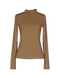 Plein Sud Jeanius Knitwear Turtlenecks Women Khaki