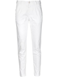 Transit Tapered Trousers White