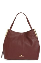 Vince Camuto 'Tina' Leather Tote Red Black Cherry