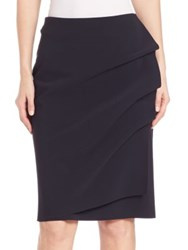 La Petite Robe Di Chiara Boni Side Ruffle Pencil Skirt