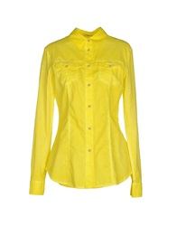 Siviglia Denim Shirts Yellow