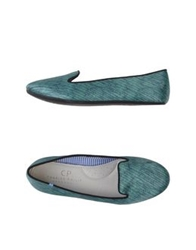 Charles Philip Moccasins Emerald Green