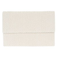 Coast Fern Beaded Clutch Bag Ivory