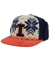 Top Of The World Illinois Fighting Illini Christmas Sweater Strapback Cap