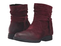 Born Cross Amarena Distressed Women's Boots Red