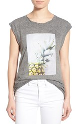 Women's Pam And Gela 'Frankie' Pineapple Graphic Muscle Tee