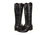 Frye Melissa Button Boot Extended Black Extended Soft Vintage Leather Cowboy Boots