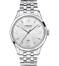 Montblanc Heritage Chronometrie 112532 Automatic Watch Silver