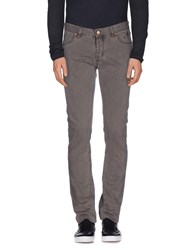 Jeckerson Denim Denim Trousers Men Dove Grey