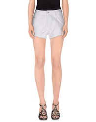 Diesel Denim Denim Shorts Women White