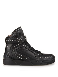 Givenchy Tyson Studded High Top Leather Trainers