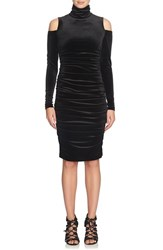 Cynthia Steffe Women's Velvet Body Con Dress
