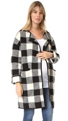 Hatch The Claude Jacket Black White Plaid