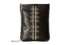 Leather Rock Cp64 Black Cross Body Handbags