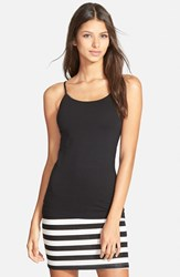 Junior Women's Bp. Stretch Camisole Black