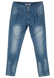 Only Relaxed Fit Jeans Light Blue Denim
