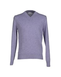 Heritage Knitwear Jumpers Men Lilac