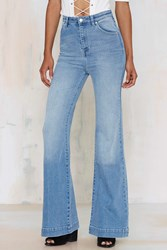 Nasty Gal Rolla's Eastcoast High Waisted Flare Jeans