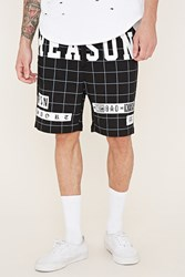 Forever 21 Reason Grid Shorts