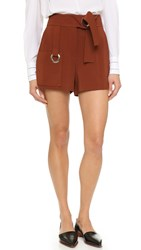 A.L.C. Lucile Shorts Henna