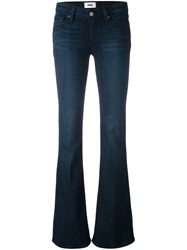 Paige Flared Jeans Blue
