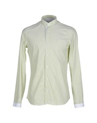 Asfalto Shirts Shirts Men Acid Green