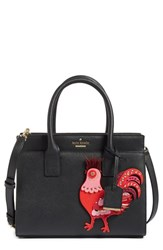 Kate Spade New York Rooster Small Candace Leather Satchel