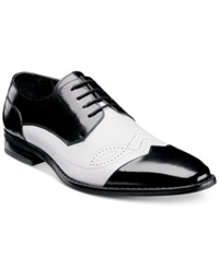 Stacy Adams Tavin Cap Toe Oxfords Men's Shoes Black White
