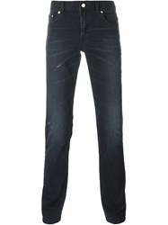 Blk Dnm Slim Fit Jeans Black