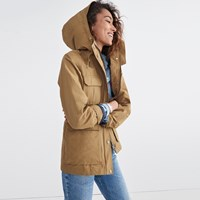 Madewell X Penfield Kasson Parka In Tan