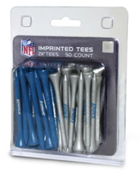 Team Golf Detroit Lions 50 Pack Golf Tees Team Color