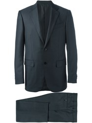 Ermenegildo Zegna Notched Lapel Formal Suit Grey