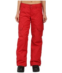 Dc Ace J Snow Pants American Beauty Women's Casual Pants Red